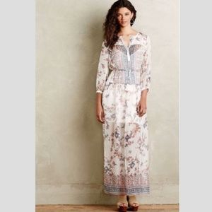 Konrad + Joseph Windpoppy Floral Maxi Dress